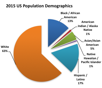 2015 US Population Demographics